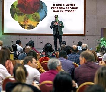 Eduardo Almeida ikigai em palestra